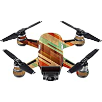Skin For DJI Spark Mini Drone – Abstract Wood | MightySkins Protective, Durable, and Unique Vinyl Decal wrap cover | Easy To Apply, Remove, and Change Styles | Made in the USA