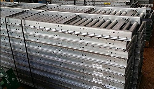 Sjf Material Handling, Used Roller Conveyors, Urc-24-10, Length X Width: 10 Ft X 24 In Oaw, Roller Dia: 1.9 In, Roller Center: 3 In, Eric-Nov-2015