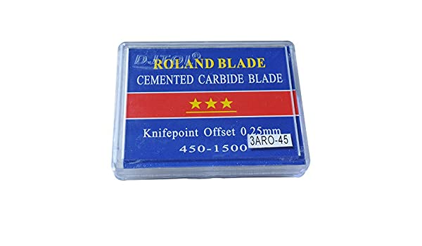 45 grados Roland Vinilo Plotter cuchillas cuchillo – 3 un grado ...
