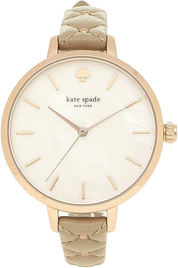 [ケイトスペード]時計 KATE SPADE METRO メトロ 34MM レディース腕時計ウォッチ 選べるカラー ベージュ KSW1470 [並行輸入品]