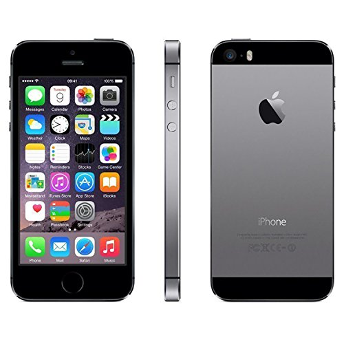 Apple iPhone 5S 16GB GSM Unlocked, Space Gray (Refurbished) by Apple (Image #4)