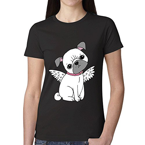 Cute Pug T Shirts For Women Round Neck (Hooters T Shirt Uk)