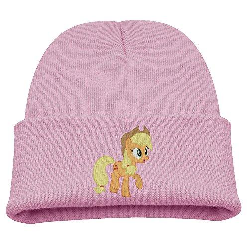 Applejack My Little Pony Warm Winter Hat Knit Beanie Skull Cap Cuff Beanie Hat Winter Hats Kids