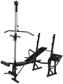 banc de musculation ou appareil a charge guidee