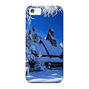 New Fashion Premium Cases Covers For Iphone 5c - Winter House