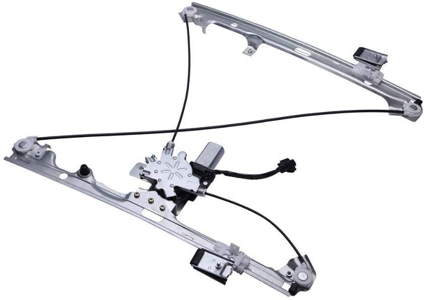 Front Left Driver Side Power Window Regulator with Motor Assembly for Chevrolet Silverado 1500 2500 3500 Tahoe GMC Sierra Yukon Cadillac Escalade