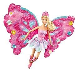 Barbie Flower 'N Flutter Fairy Barbie Doll