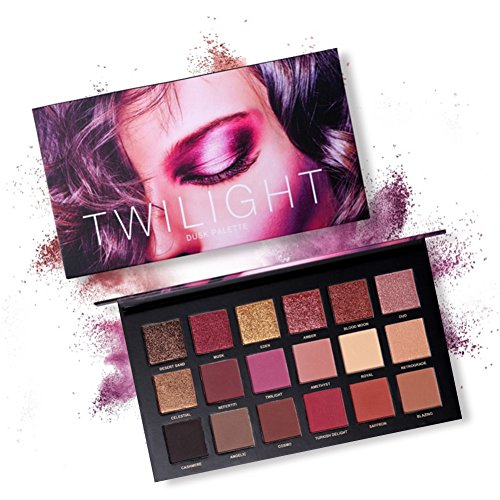 (Eyeshadow Palette Makeup Set ROPALIA Matte Shimmer Waterproof Powder Natural Smokey Nude Professional Cosmetic (18)