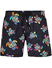 Kids Boy's Jim Over The Rainbow Turtles Swim Trunk (Toddler/Little Kids/Big Kids)
