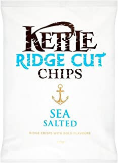 product image for Kettle Ridge Cut Chips - Sea Salted (150g)