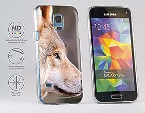 Funda Carcasa dura para Samsung Galaxy S5 mini - Lobo