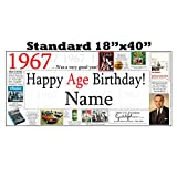 1967 PERSONALIZED BANNER by Partypro