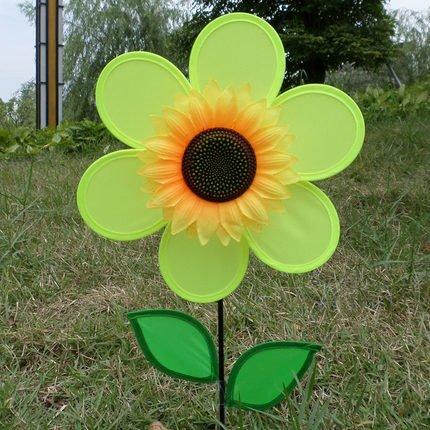 Yellow Pinwheel - 8