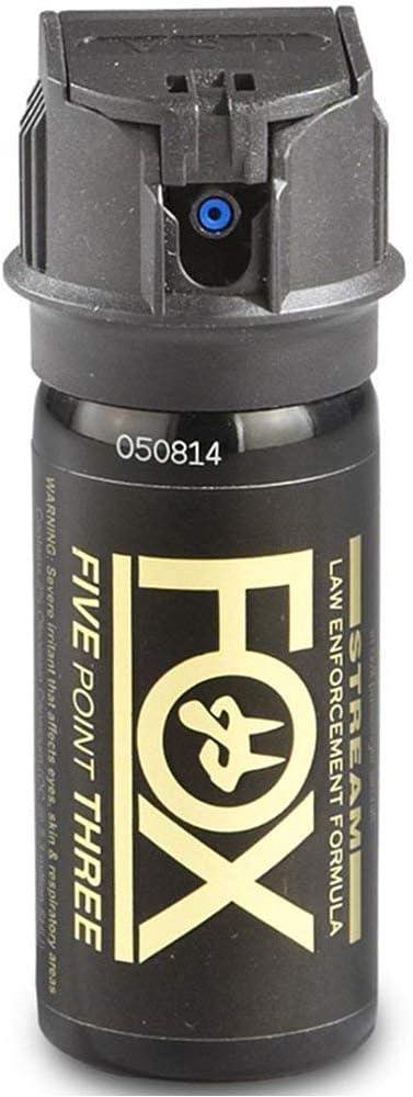 Fox Labs ACK, LLC 1.5 Ounce 2 OC 5.3-mm Flip Top Stream Pepper Spray
