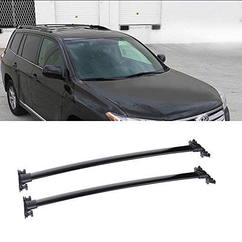 mifeier-for-2008-2013-toyota-highlander-black-aluminum-roof-rack-cross-bar-luggage-cargo-carrier-rai