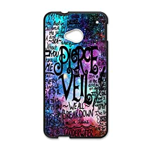 Happy Pierce Vell Brand New And Custom Hard Case Cover Protector For HTC One M7