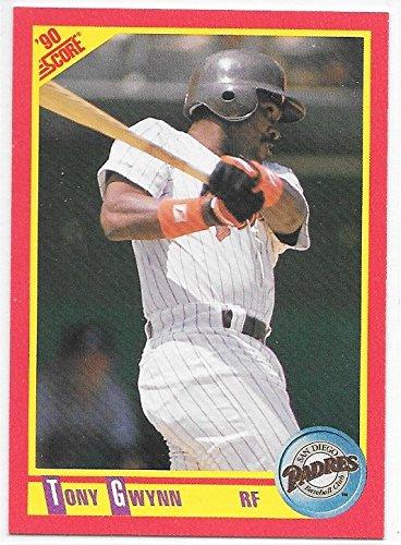 - Tony Gwynn 1990 Score San Diego Padres Card #255