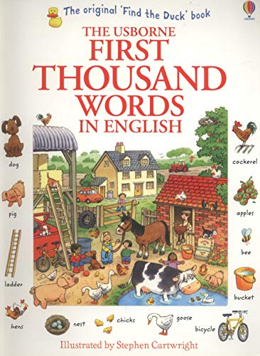 First Thousand Words in English (Usborne First Thousand Words): 1