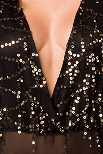 luxury & good Dessous - Body - para mujer negro