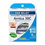 Image of Boiron Arnica Montana 30C 3 Tubes (80 Pellets per Tube) Homeopathic Medicine for Pain Relief