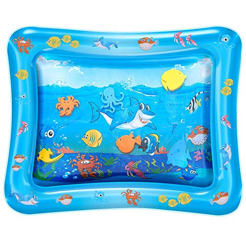 Yikky Inflatable Tummy Time Premium Water mat Infants & Toddlers is The Perfect Fun time Play Activity Center Your Babys Stimulation Growth