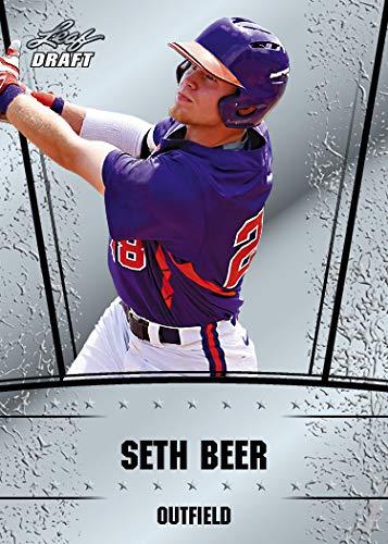 (10 ct lot 2018 SETH BEER Leaf Silver Draft Rookies)