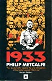1933 by Philip Metcalfe front cover