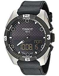 Tissot Men's T0914204605100 T-Touch Expert Analog Display Swiss Quartz Black Watch