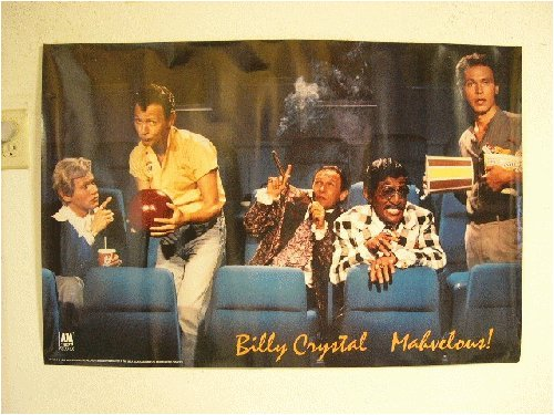 Billy Crystal Poster Saturday Night Live Characters -