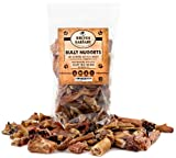 Brutus & Barnaby Bully Nuggets- Grass Fed Low Odor Bully Stick Bites- All Natural and Grain Free; USDA Approved (1lb)