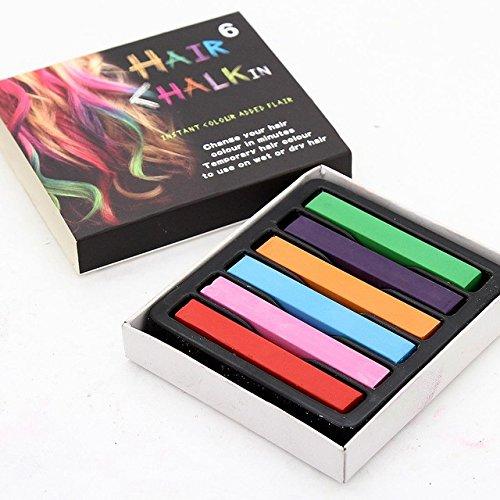 Z-COMFORT Rainbow chalk temporary hair coloring, 16 Ounce
