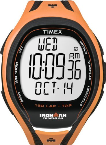 Timex Men's IRONMAN 150-Lap TAP Screen Sleek Watch T5K254