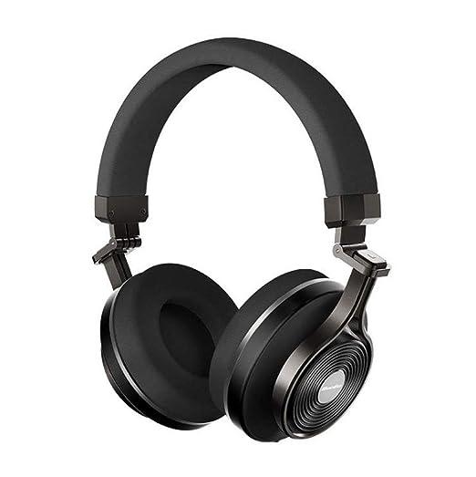Auriculares Bluetooth Extra Bajos En El Micrófono De La Oreja, Auriculares Inalámbricos Plegables del Controlador De 57 Mm,con Cable Teléfono Celular/TV ...