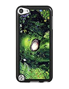 Ipod touch 5th Phone Funda Case, My Neighbor Totoro Phone Funda Case, Unique Design Phone Funda Case, Anti Slip Drop Protection Plastic Material Protector Hard Printed Funda Case & Cover Compatible With Ipod touch 5th