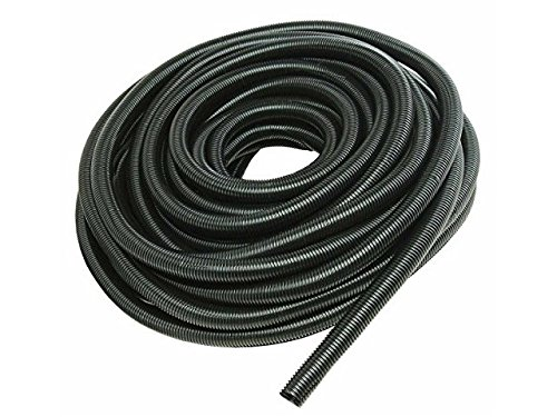 100 FT 5/8' INCH Split Loom Tubing Wire Conduit Hose Cover Auto Home Marine Black