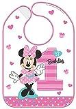 Minnie Mouse 1st Birthday Fun to Be One' Plastic Birthday Bib (1ct)