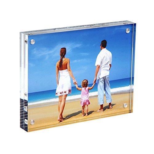 Clear Acrylic Photo Frame 8x10