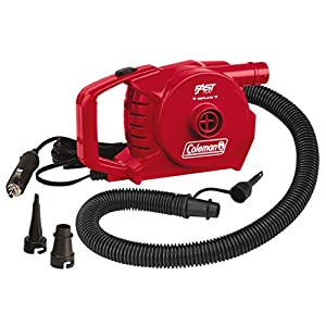 Coleman 12 Volt QuickPump, Electric Pump for Airbeds, Inflatables, Kayaks, Pool Toys, Inflation Deflation Car Pump, including 12V DC charger