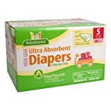 BabyGanics Ultra Absorbent Diapers - 68 Ct - Size 5