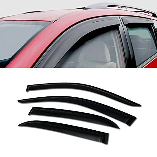 4dr Vent Visor Deflector - For 03-07 Honda Accord 4Dr - JDM SUN/RAIN/WIND GUARD SMOKE VENT SHADE DEFLECTOR WINDOW VISOR 4PCs