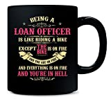 Being A Loan Officer Is Like Riding A Bike Funny Gift - Mug