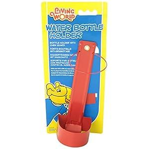 Living World Metal Water Bottle Holder for Living World Guinea Pig Bottle