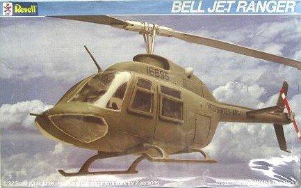 Revell Bell Jet Ranger Helicopter Vintage 1985 1/32 Model Kit