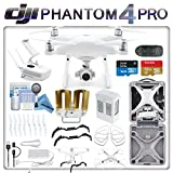 DJI Phantom 4 Professional Drone Kit w/ eDig Long Range Flight Bundle