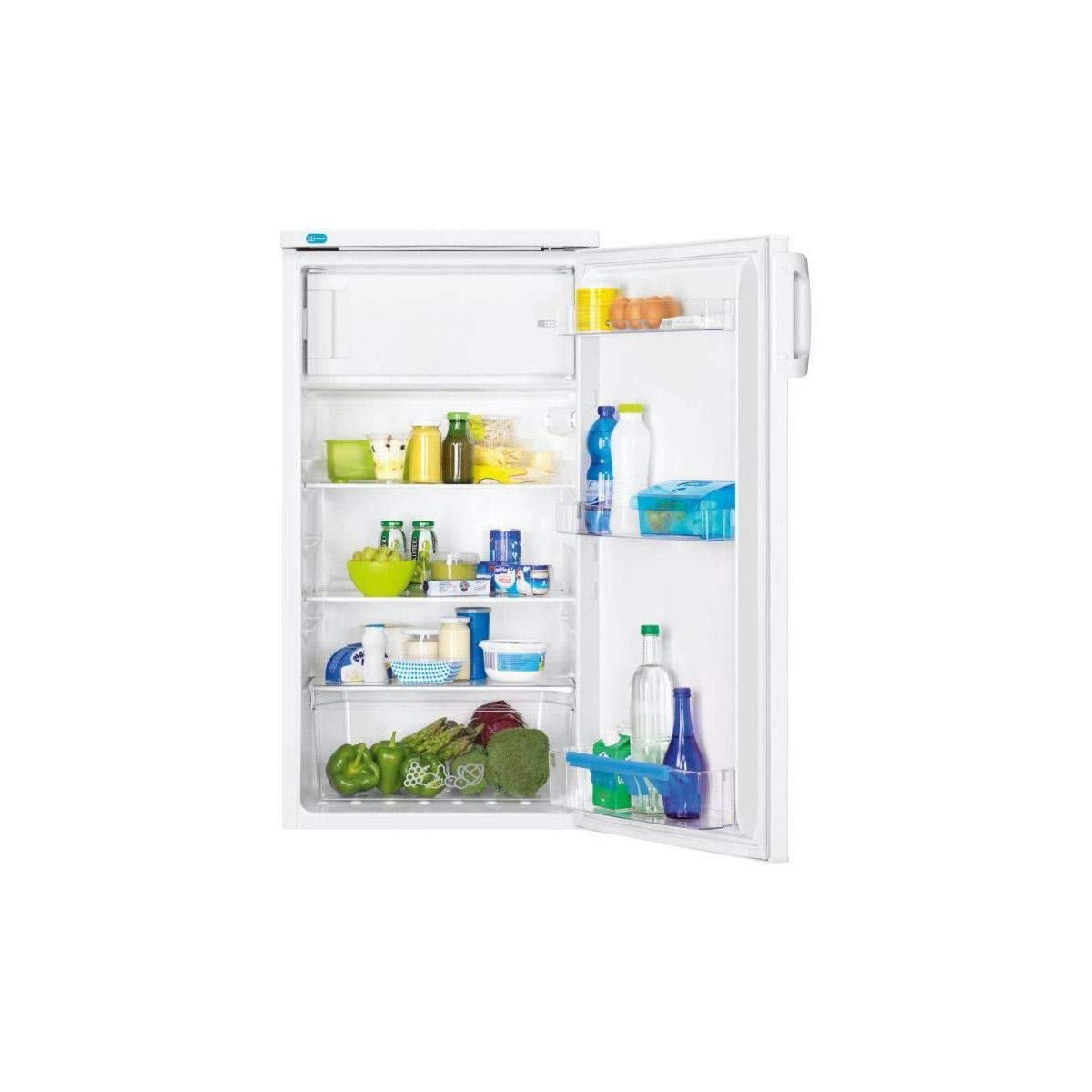frigos combin/és Faure FRA17800WA frigo combine Autonome, Blanc, Plac/é en haut, Droite, A+, SN-ST