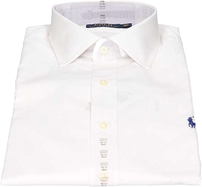 Polo Ralph Lauren C0223 A1000 Camisas Hombre Blanco 15/: Amazon.es ...