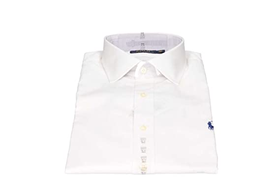Polo Ralph Lauren C0223 A1000 Camisas Hombre Blanco 15/: Amazon.es ...