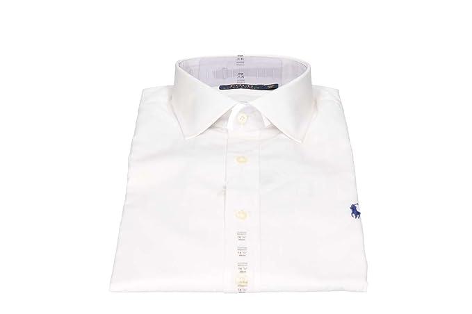 Polo Ralph Lauren C0223 A1000 Camisas Hombre Blanco 15/