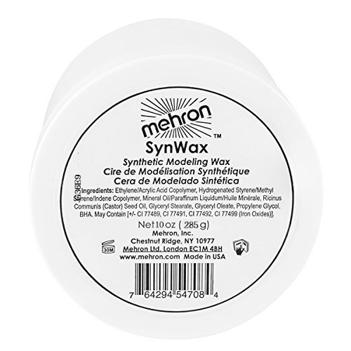 [MEHRON Syn Wax - 8oz] (Nose Putty)