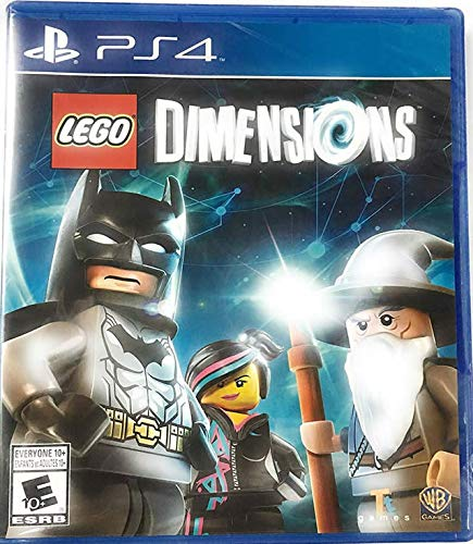 - PS4 LEGO Dimensions Game (Disc only)